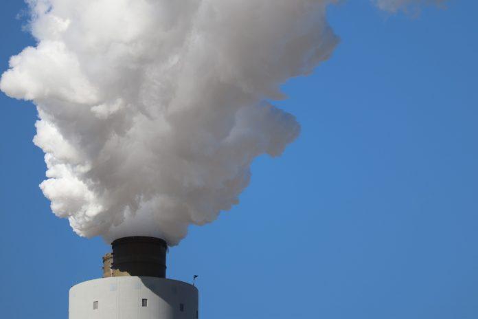 Impianto di combustione con emissioni