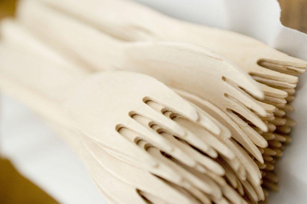 Forchette di bambù: sono sicure?