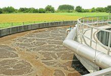 Impianto di depurazione che produce emissioni odorigene.