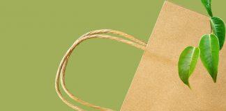 Sporte di carta certificate Ecolabel UE