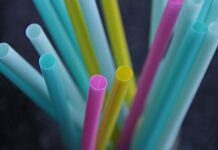 Drinking straws, a single-use plastic product