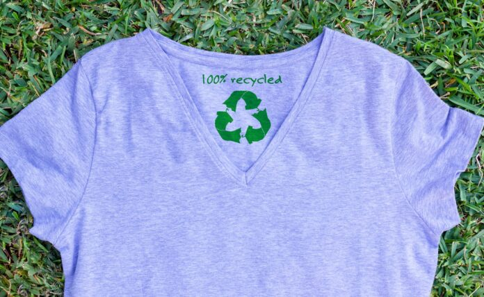 Sustainable and recycled t-shirt